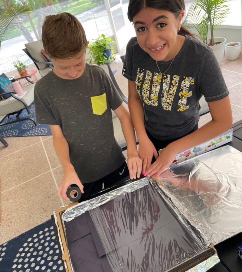 tag! DIY Camp Solar Oven Step 4