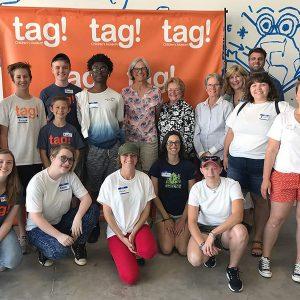 volunteer at tag! Children's Museum